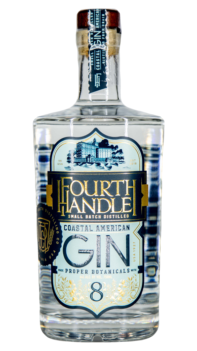 Bottle of Fourth Handle Coastal American Gin
